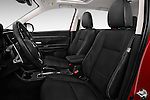 Front seat view of 2016 Mitsubishi Outlander GT 5 Door SUV Front Seat car photos