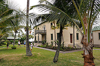 The Hulihe'e Palace, constructed in 1838. Kailua-Kona, Big Island, Hawaii