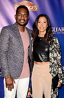"""LOS ANGELES - MAY 2:  Bill Bellamy, wife at the """"The Bodyguard"""" Play Opening at the Pantages Theater on May 2, 2017 in Los Angeles, CA"""