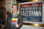 02-19-12 Finn Wittrock - AMC - stars in Death of a Salesman Ethel Barrymore Theatre