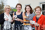 Catriona Stack Clifford with some of her helpers at her coffee  morning in aid of her friend Joanne McMahon in Fossa on Friday l-r: Mary Stack Courtney, Catriona Stack-Clifford, Marie Chawlke and Eileen Sugrue