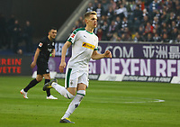 Matthias Ginter (Borussia Mönchengladbach) - 17.02.2019: Eintracht Frankfurt vs. Borussia Mönchengladbach, Commerzbank Arena, 22. Spieltag Bundesliga, DISCLAIMER: DFL regulations prohibit any use of photographs as image sequences and/or quasi-video.