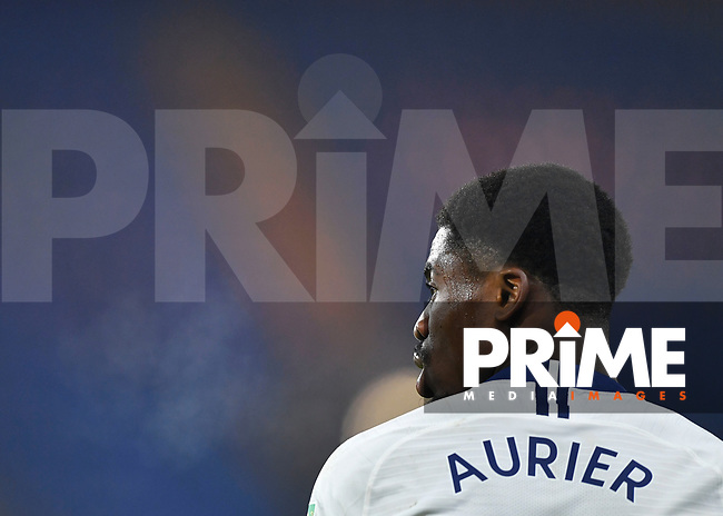Serge Aurier of Tottenham Hotspur during the Carabao Cup Semi-Final 2nd leg match between Chelsea and Tottenham Hotspur at Stamford Bridge, London, England on 24 January 2019. Photo by Vince  Mignott / PRiME Media Images.