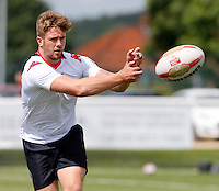Ben Hellewell warms up prior to the Kingstone Press Championship game between London Broncos and Sheffield Eagles at Ealing Trailfinders, Ealing, on Sun July 9,2016