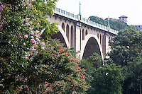 Taft Memorial Bridge Woodley Park Rock Creek Parkway Washington DC