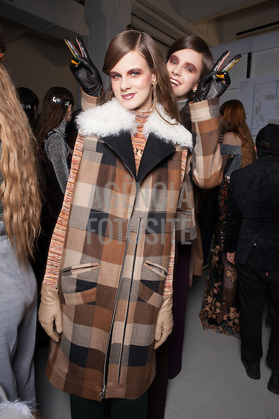 Nova Iorque, EUA &ndash; 02/2014 - Desfile de Rodarte durante a Semana de moda de Nova Iorque - Inverno 2014. <br /> Foto: FOTOSITE