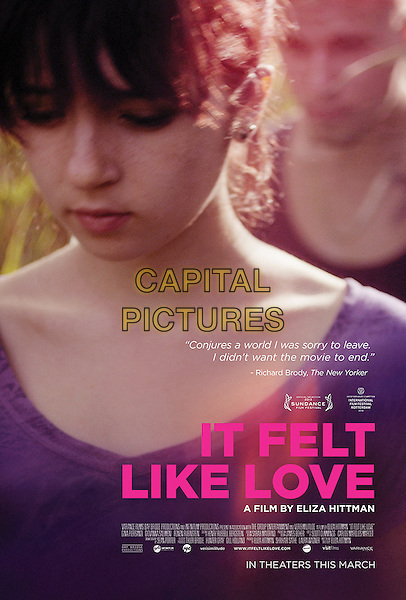 POSTER ART<br /> in It Felt Like Love (2013) <br /> *Filmstill - Editorial Use Only*<br /> CAP/FB<br /> Image supplied by Capital Pictures