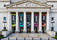 Schermerhorn Symphony Center exterior, Nashville, Tennessee, USA.