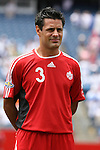 16 June 2007: Canada's Ante Jazic. The Canada Men's National team defeated the Guatemala Men's National Team 3-0 at Gillette Stadium in Foxboro, Massachusetts in a 2007 CONCACAF Gold Cup quarterfinal.