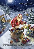 Marcello, CHRISTMAS SANTA, SNOWMAN, WEIHNACHTSMÄNNER, SCHNEEMÄNNER, PAPÁ NOEL, MUÑECOS DE NIEVE, paintings+++++,ITMCXM1354,#X#