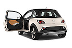 Car images close up view of a 2015 Opel Adam Rocks 3 Door Hatchback doors
