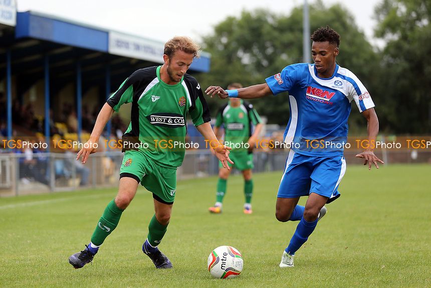 Robbie Rees of Dagenham during Bedford Town vs Dagenham & Redbridge, Friendly Match Football at The Eyrie on 15th July 2017