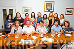 Jimmy McDonnell (seated) from Ballymac, retiring from Siamsa Tire, celebrating with his family in Bella Bia on Friday night.  <br /> Seated l-r, Bridget and Jimmy McDonnell, Irene O&rsquo;Donnell, Jonathan Kelliher and Michelle Murphy.<br /> Back l-r, Catriona Farm, Siobhan Brennan, Catherina and Cora McCarthy, Ann Slattery, Joanne Griffin, Ann O&rsquo;Donnell, Ciara Kelly, Tina McCarthy and Liam Sugrue.