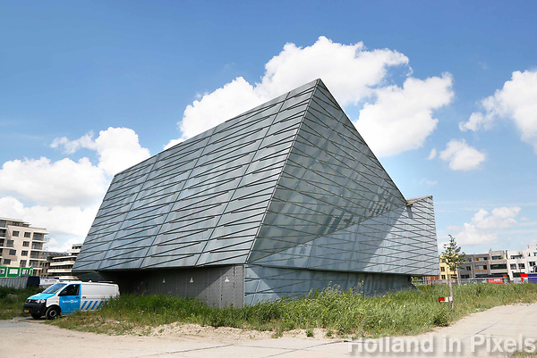 Nederland Amsterdam  2017 . Zeeburgereiland. Boostergemaal.   Foto Berlinda van Dam / Hollandse Hoogte