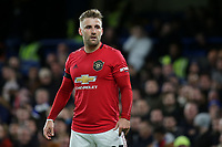 Luke Shaw of Manchester United during Chelsea vs Manchester United, Premier League Football at Stamford Bridge on 17th February 2020