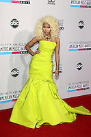 LOS ANGELES, CA - NOVEMBER 18: Nicki Minaj at the 40th American Music Awards held at Nokia Theatre L.A. Live on November 18, 2012 in Los Angeles, California. Credit: mpi20/MediaPunch Inc. NortePhoto