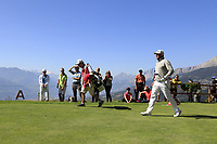 Lee Westwood (ENG) walks off the 7th tee during Saturday's Round 3 of the 2018 Omega European Masters, held at the Golf Club Crans-Sur-Sierre, Crans Montana, Switzerland. 8th September 2018.<br /> Picture: Eoin Clarke | Golffile<br /> <br /> <br /> All photos usage must carry mandatory copyright credit (&copy; Golffile | Eoin Clarke)