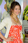 WESTWOOD, CA. - November 14: Jessica Biel arrives to the Los Angeles premiere of 'Planet 51' at the Mann Village Theatre on November 14, 2009 in Westwood, California.