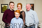 Anna Marie Flavin from Mounthawk,Tralee enjoying a birthday meal with family on Saturday night at Kirby's Brogue Inn. L-r Shane Flavin, Tom Flavin, Anna Marie Flavin and Pat Flavin.