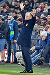 06.11.2018, Veltins-Arena, Gelsenkirchen, GER, CL, FC Schalke 04 vs Galatasaray Istanbul, DFL regulations prohibit any use of photographs as image sequences and/or quasi-video <br /> <br /> im Bild Fatih Terim (Galatasaray) unzufrieden / enttaeuscht / niedergeschlagen / frustriert, <br /> <br /> Foto &copy; nordphoto/Mauelshagen
