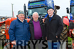 Enjoying the 10th Annual Maurice Collins Memorial Vintage day on the lands of Gerard McCarthy Banna West, Ardfert on Sunday were John Joe O'Connor, Dave O'Connor, Asdee, and Mike Fitzpatrick, Ardfert