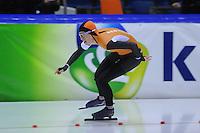 SCHAATSEN: HEERENVEEN: 01-02-2014, IJsstadion Thialf, Olympische testwedstrijd, Annouk van der Weijden, ©foto Martin de Jong