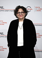 La regista statunitense Roberta Grossman posa durante il photocall per la presentazione del suo film &quot;Who Will Write Our History &quot; al Festival Internazionale del Film di Roma, 19 ottobre 2018.<br /> US director Roberta Grossman poses during the photocall of her movie &quot;Who Will Write Our History &quot; during the international Rome Film Festival at Rome's Auditorium, on October 19, 2018.<br /> UPDATE IMAGES PRESS/Isabella Bonotto