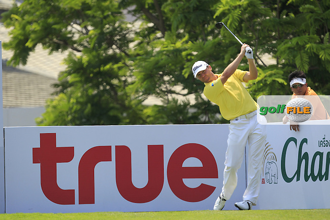 Michael Hoey (NIR) in action on the 10th during Round 2 of the True Thailand Classic, at the Black Mountain Golf Club, Hua Hin, Thailand.  11/03/2016. <br /> Picture: Golffile | Thos Caffrey.<br /> <br /> All photos usage must carry mandatory copyright credit <br /> (&copy; Golffile | Thos Caffrey)