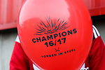 Sheffield United balloons during the English League One match at Bramall Lane Stadium, Sheffield. Picture date: April 30th, 2017. Pic credit should read: Jamie Tyerman/Sportimage