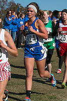 Isabella Bowers, a Scott City senior, broke the top 100 with her 91st-place finish in the Class 2 race at the 2015 MSHSAA State Cross Country Championships.