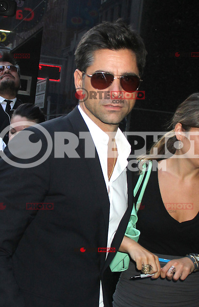 NEW YORK, NY - July 17, 2012: John Stamos at Good Morning America studios in New York City. © RW/MediaPunch Inc. *NORTEPHOTO*<br />