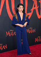"""LOS ANGELES, CA: 09, 2020: Lana Condor  at the world premiere of Disney's """"Mulan"""" at the El Capitan Theatre.<br /> Picture: Paul Smith/Featureflash"""