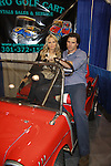 One Life To Live Terri Conn (ATWT) and Austin Peck (ATWT & Days) in a Chevrolet Golf Cart at the Home & Leisure Show on October 16, 2011 at the Capital Clubhouse, Waldorf, Maryland. Austin and Terri signed autographs, took photos and roamed around the show and had fun.  (Photo by Sue Coflin/Max Photos)