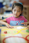 1208-01 116<br /> <br /> 1208-01 Elementary Education Lab<br /> <br /> JFSB, McKay School of Education, Pre-School<br /> <br /> Model released. Asian child learning, Ethnicity, Playing, <br /> <br /> August 1, 2012<br /> <br /> Photo by Jaren Wilkey/BYU<br /> <br /> &copy; BYU PHOTO 2012<br /> All Rights Reserved<br /> photo@byu.edu  (801)422-7322