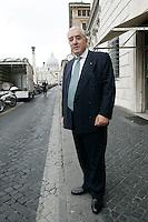 MARCELLO DELL UTRI.Roma 01/07/2011 Consiglio Nazionale del PDL..Photo Samantha Zucchi Insidefoto