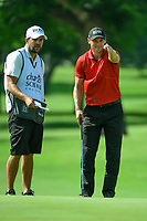 Martin Kaymer (GER) looks over his putt on 2 during round 2 of the 2019 Charles Schwab Challenge, Colonial Country Club, Ft. Worth, Texas,  USA. 5/24/2019.<br /> Picture: Golffile   Ken Murray<br /> <br /> All photo usage must carry mandatory copyright credit (© Golffile   Ken Murray)