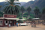 Horse riding stables, Avalon, Catalina Island, California
