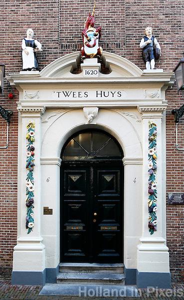 Hoorn. T Wees Huys. Protestants of Burgerweeshuis