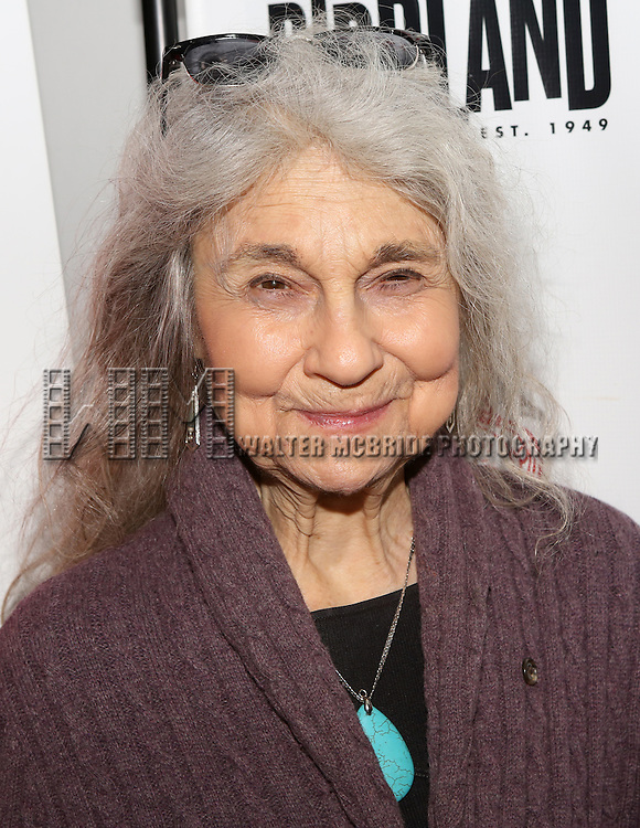 Lynn Cohen backstage at 'The Lilly Awards Broadway Cabaret' at Birdland on November 10, 2014 in New York City.
