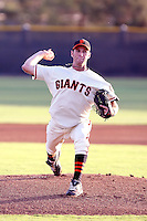 Mark Christman - AZL Giants - 2010 Arizona League. Christman was warming up for his first professional game in the Arizona League at the Giants minor league complex in Scottsdale, AZ when he injured his elbow - 07/02/2010. Photo by:  Bill Mitchell/Four Seam Images..