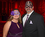 Angela and Kevin Comphel during the Nevada Masquerade Ball at the Peppermill in Reno on Saturday night, February 10, 2018.