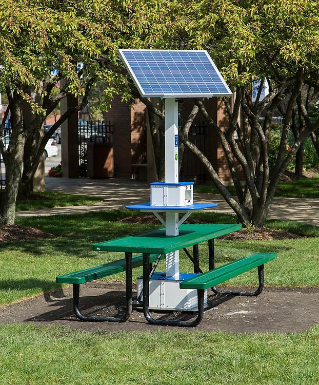 Solar Chargers DePaul University - Solar picnic table
