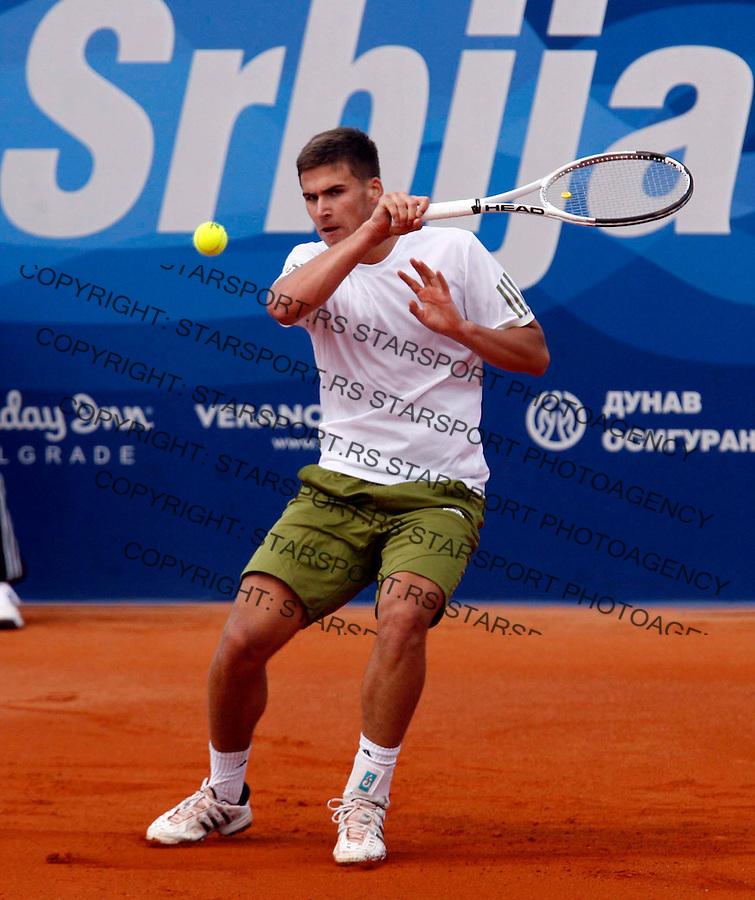 Marko Djokovic Sport Tenis Tennis Atp Serbia Open 2009 Beograd Srbija 2-10.may 2009. (credit image © photo: Pedja Milosavljevic / STARSPORT) Ova fotografija je zasticena zakonom o autorskom pravu. Nije dozvoljena upotreba ove fotografije u bilo koje marketinske, propagandne, komercijalne, nekomercijalne, humanitarne, reklamne itd svrhe, bez pismenog odobrenja autora. © 2009 Pedja Milosavljevic / +318 64 1260 959 / thepedja@gmail.com