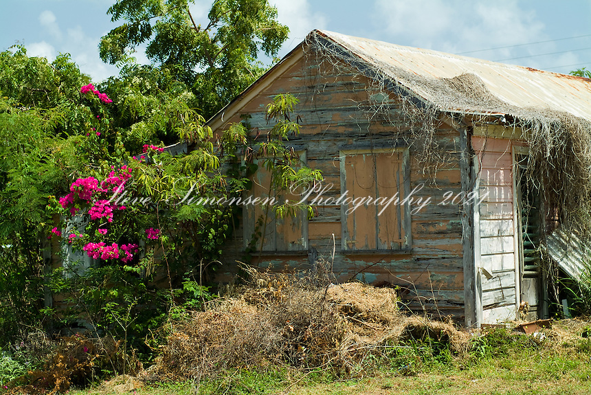 Traditional West Indian building, Spanish Town, Virgin Gorda