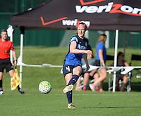 Kansas City, MO - Saturday June 25, 2016:  Becky Sauerbrunn during a regular season National Women's Soccer League (NWSL) match at Swope Soccer Village.