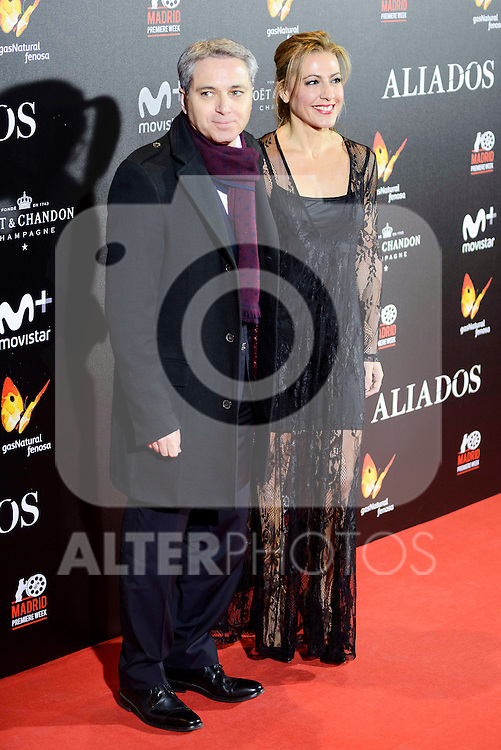 "Miriam Diaz-Aroca attends to the photocall of the premiere of ""Aliados"" in Madrid. November 22, 2016. (ALTERPHOTOS/Borja B.Hojas)"