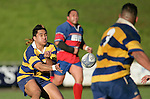Male Sau' passes to Poali Taula. McNamara Cup final - Premier 1 Championship, Patumahoe v Ardmore Marist. Patumahoe won 13 - 6. Counties Manukau club rugby finals played at Growers Stadium, Pukekohe, 24th of June 2006.