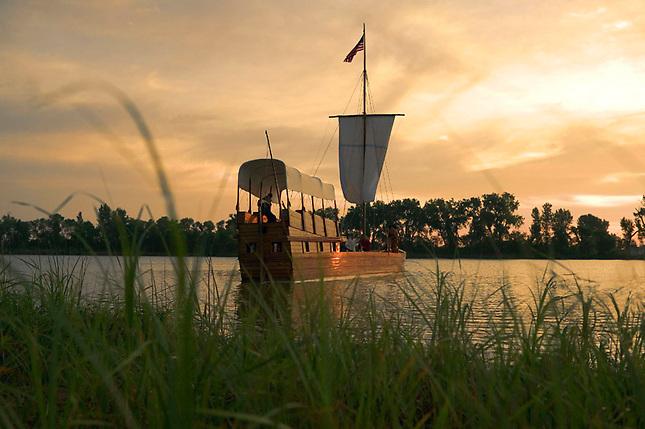 Lewis and Clark keelboat replica