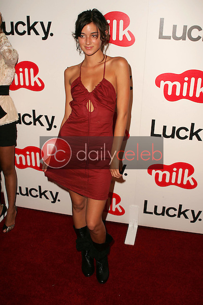 Caroline D'Amore<br />at the Lucky Magazine LA Shopping Guide Party. Milk, West Hollywood, CA. 08-10-06<br />Dave Edwards/DailyCeleb.com 818-249-4998
