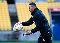Sonny Bill Williams. All Blacks training at Westpac Stadium in Wellington, New Zealand on Thursday, 14 June 2018. Photo: Dave Lintott / lintottphoto.co.nz